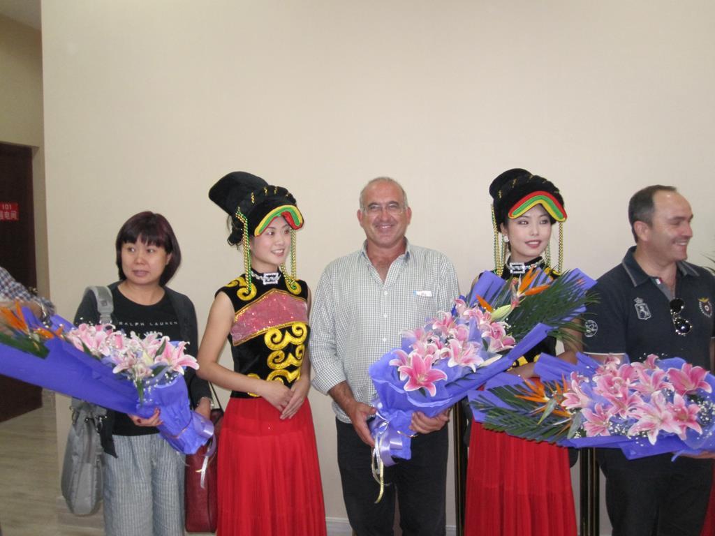 Visita Delegación de China
